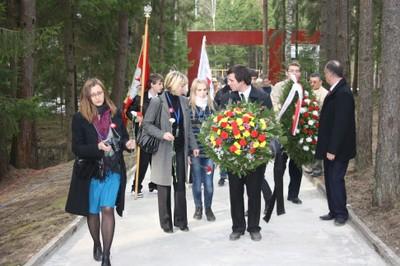 Анна Дембовска в Катыни