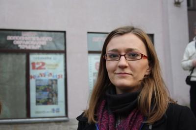 Анна Дембовская. Фото Ирины Сусловой. Смоленск, 7 апреля 2010